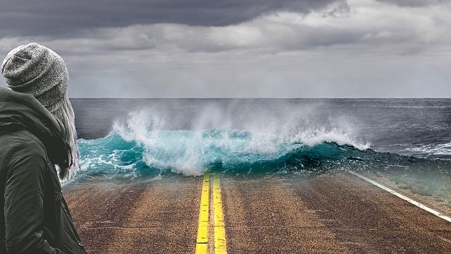 vlna na silnici