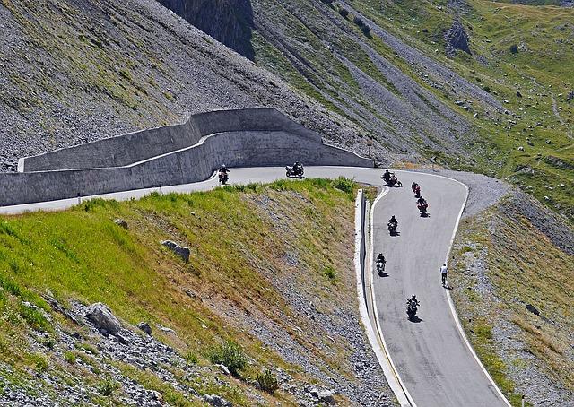 motorky hory