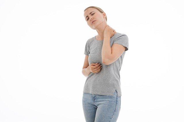 žena trpící únavou