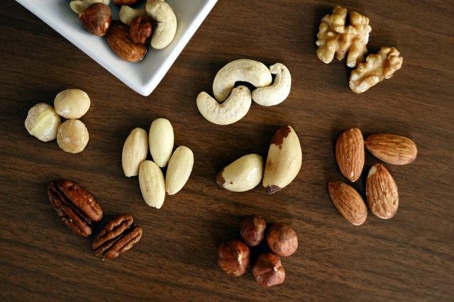 všechny druhy ořechů jsou zdravé